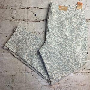NEW Low Waist Skinny Snow Leopard Jeans.